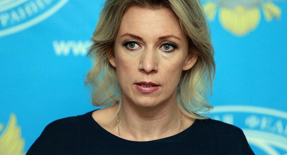 Портпарол Министарства спољних послова Русије Марија Захарова